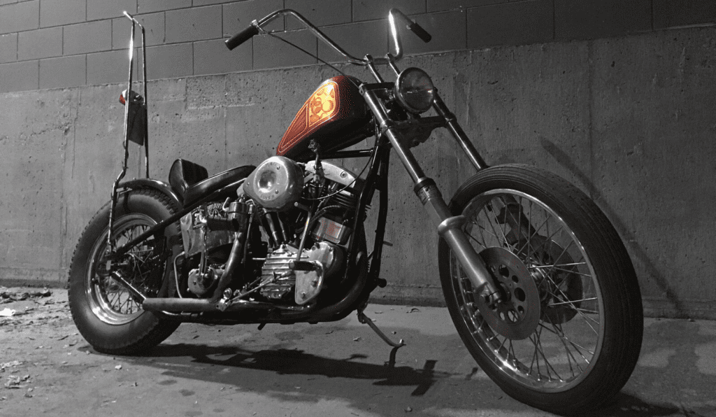 Vanilla Cycles Panhead Chopper