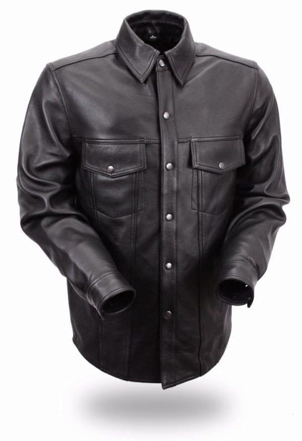 Harley-Davidson Leather Shirt