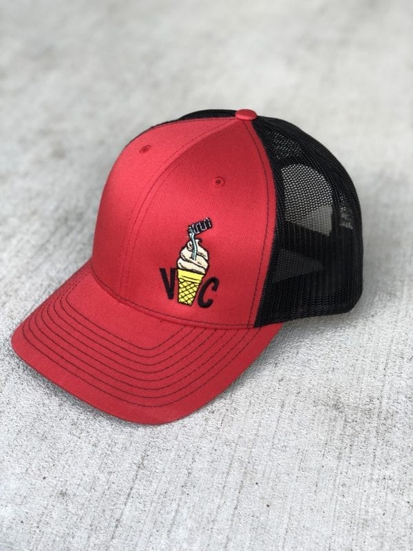 Red Kicker Cone Snapback