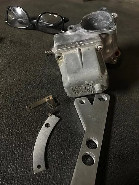 Harley-Davidson Carburetor Support Bracket