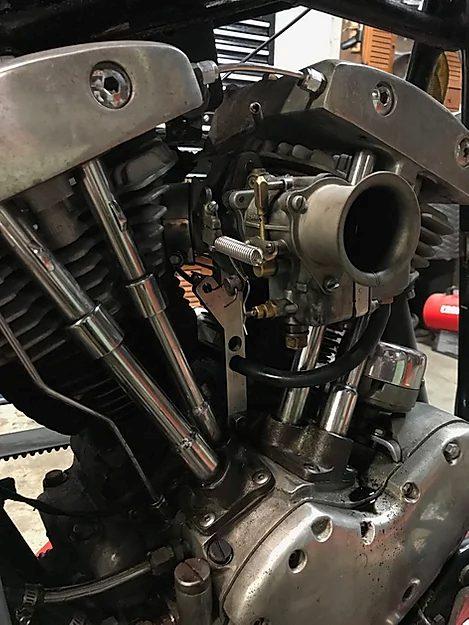 Harley-Davidson Carburetor Support Bracket