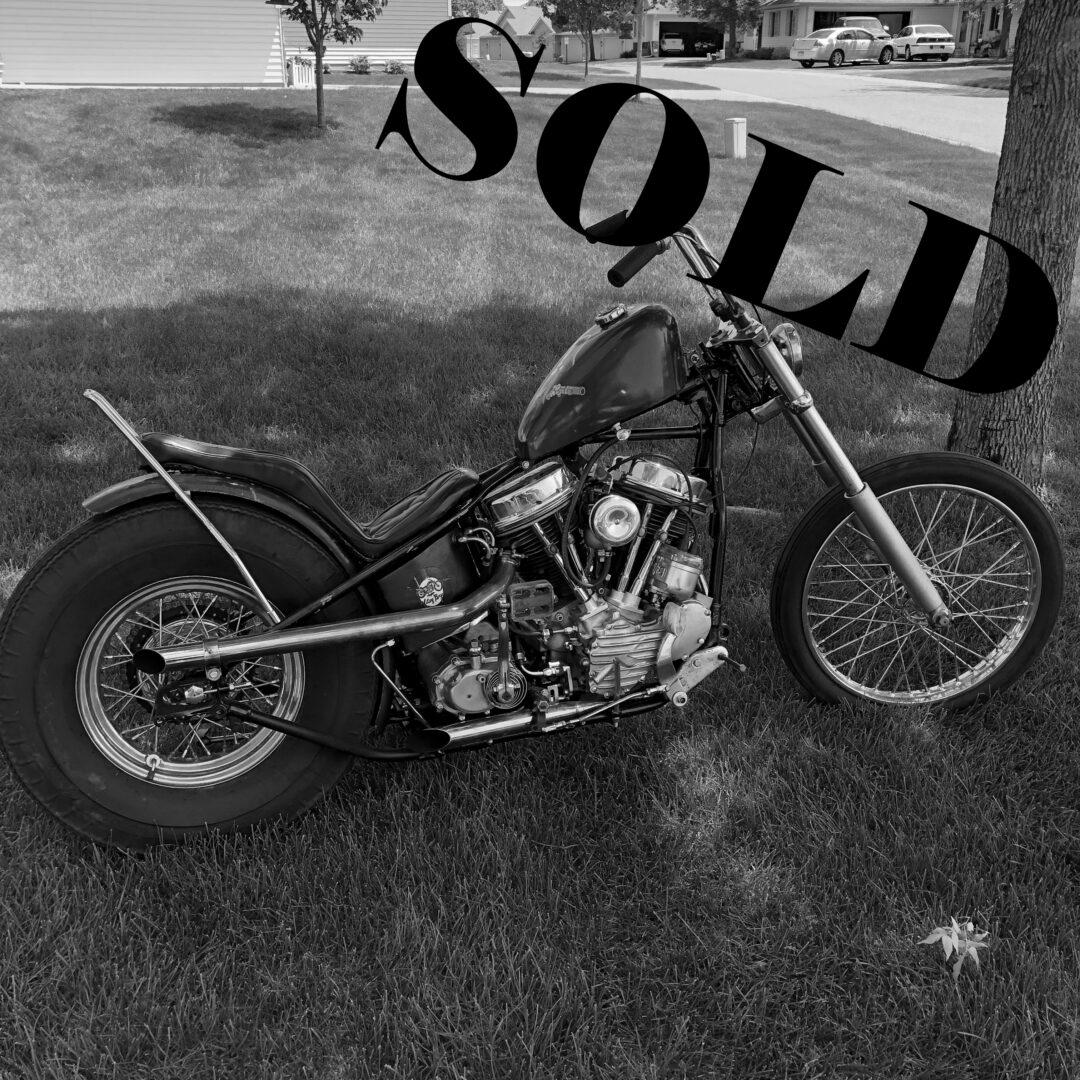 1948 Harley-Davidson Panhead Chopper