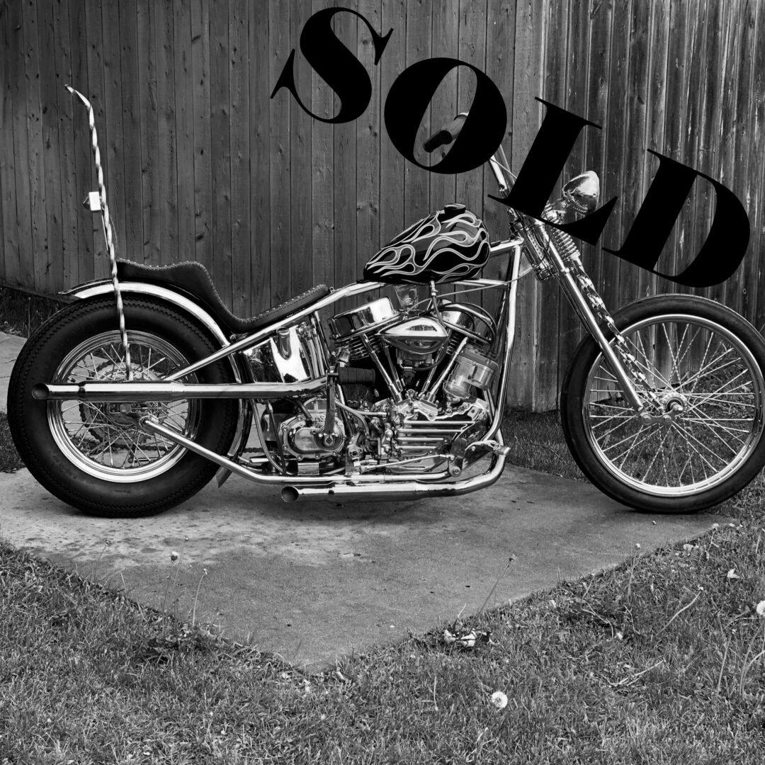 1953 Harley-Davidson Panhead Chopper