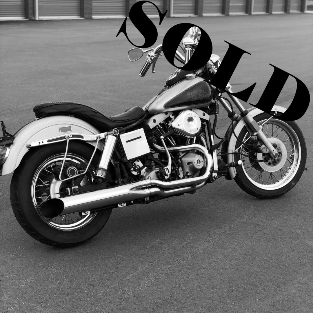 1979 Harley-Davidson Shovelhead Lowrider FXS