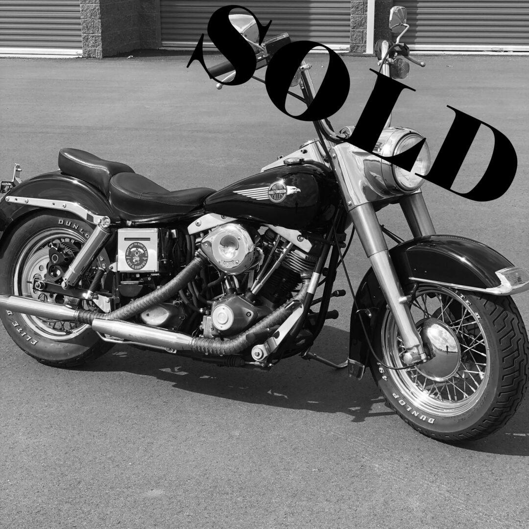 1984 Harley-Davidson Shovelhead FLHS