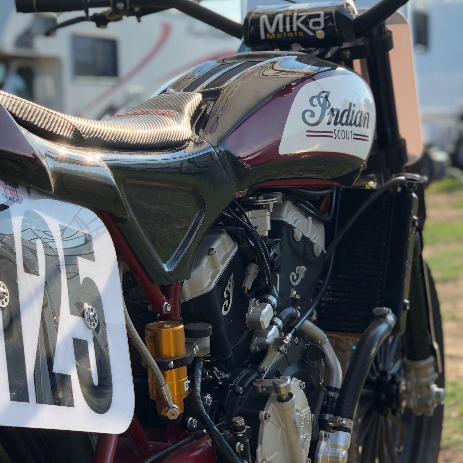 Sturgis Flat Track Racing Kevin Anderson
